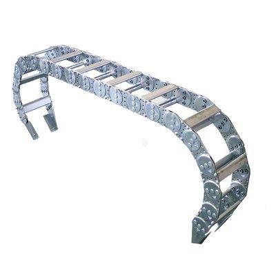 钢制拖链是如何处理远距离下垂的问题